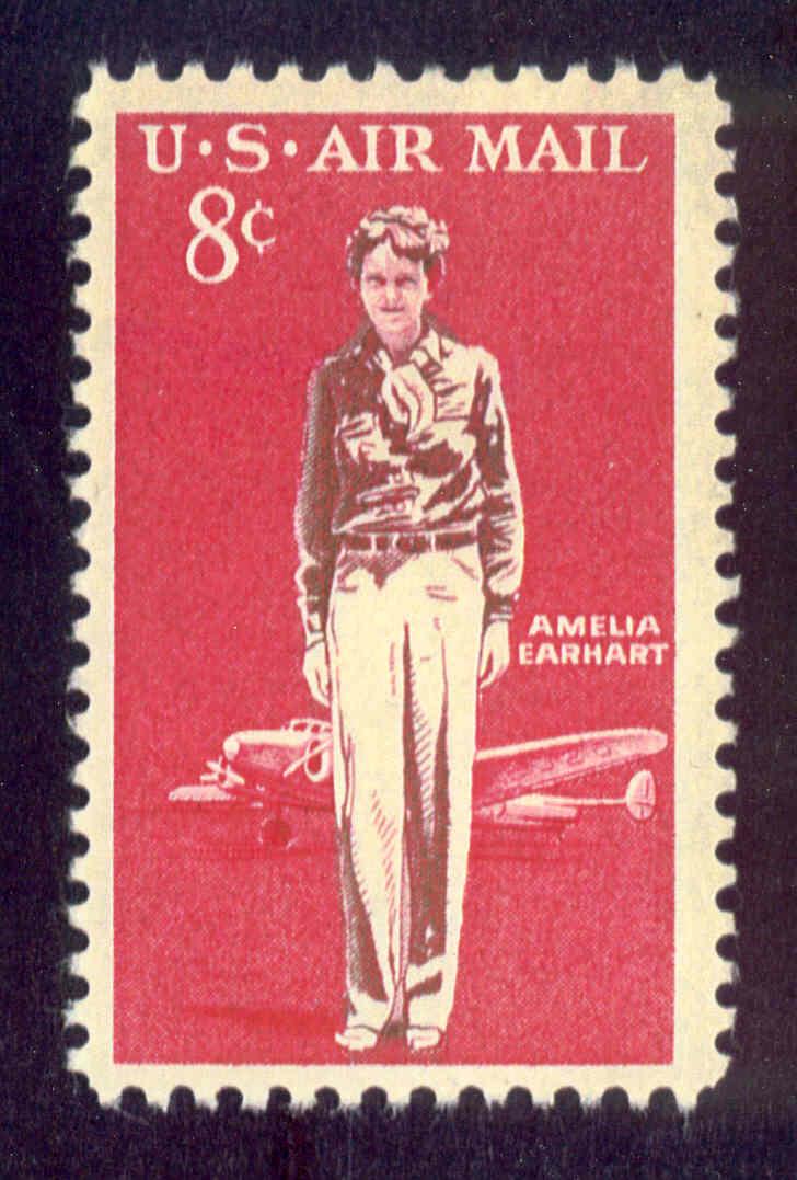 Francobollo USA Amelia Earhart