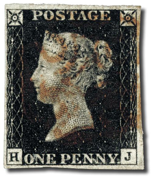 Penny Black francobollo