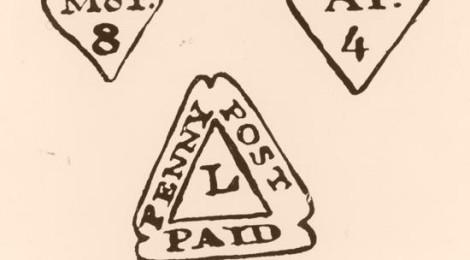 I tre bolli usati dai corrieri postali di William Dockwra