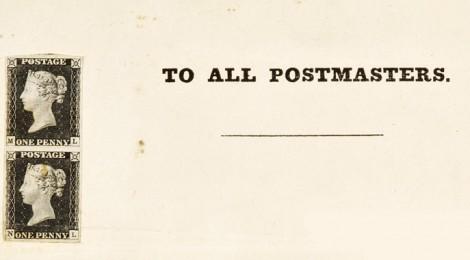 L'introduzione e la stampa del primo francobollo