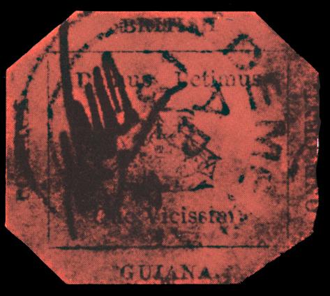 1 cent British Guiana