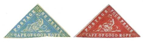 Francobolli triangolari del Capo