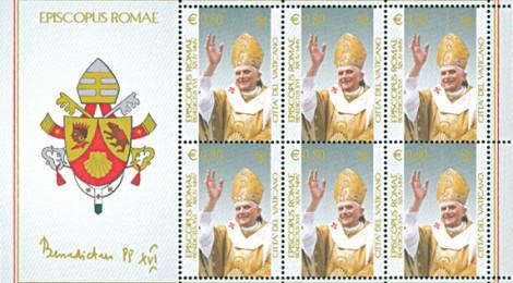 Foglietto di Ratzinger