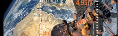 Il francobollo più bello - Il web manda in orbita San Marino