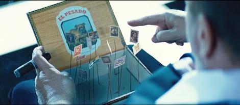 Il film Upside Down - album francobolli