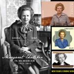 Omaggi di carta a Margaret Thatcher