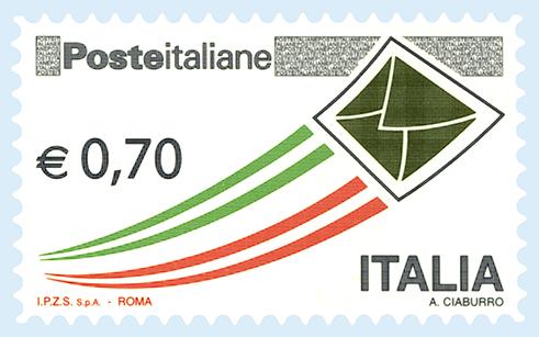 000000013 F poste italiane 0,70