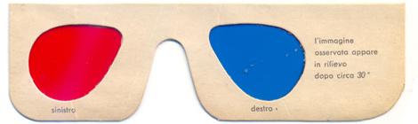 Francobolli in 3D già nel 1956