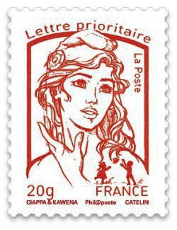 Francia, il nuovo francobollo della Marianna raffigura la leader delle FEMEN