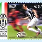 Ecco il nuovo francobollo della Juventus