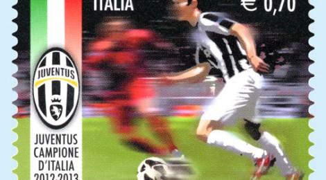 poste francobollo Juventus