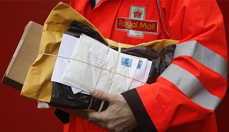 AAA Royal Mail vendesi