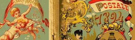 Il calendario postale: un promemoria augurale dal 1870