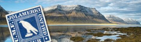 Posta di Natale tra le rive del fiordo