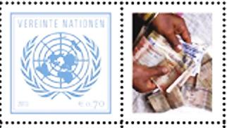 1. onu 2013 francobollo