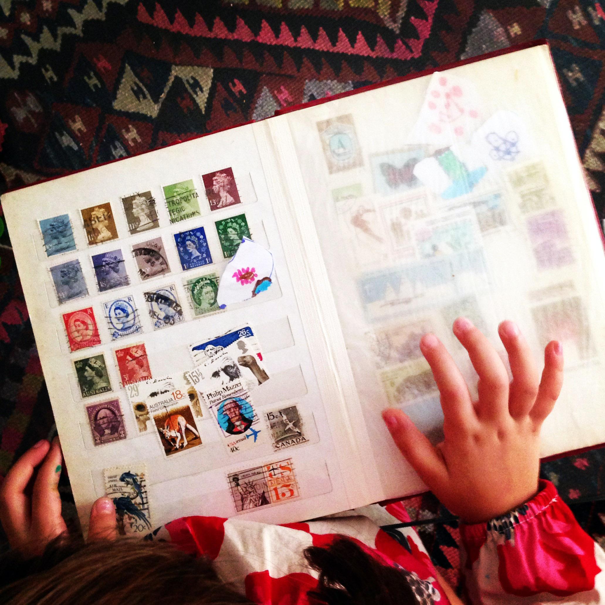 I bambini e l'arte di collezionare