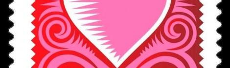 USA francobollo San Valentino
