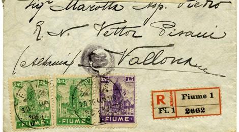 Un Fiume di francobolli per la città che fu italiana