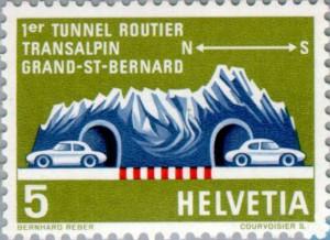 francobollo tunnel gran san bernardo1