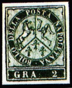 Masini Saggio litografico francobolli Napoli