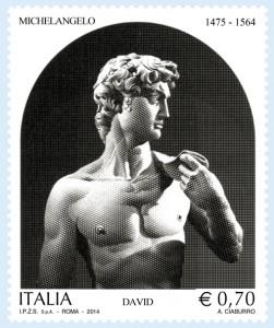 ITA francobollo michelangelo