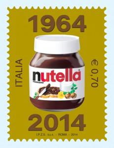francobollo nutella
