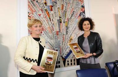 Per la Nutella debutto filatelico di Guidi e Todini