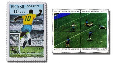 Pelé vs Maradona