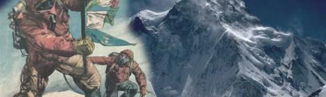 K2, una vetta per due un francobollo per 160