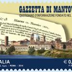 In uscita il francobollo per la Gazzetta di Mantova