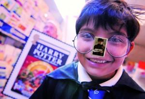 bambino Harry Potter da appiccicare