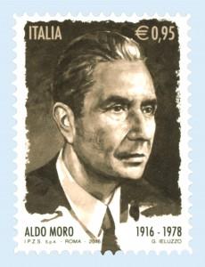 francobollo Aldo Moro 2016