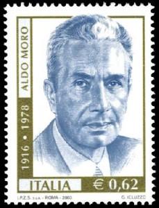 francobollo aldo moro 2003