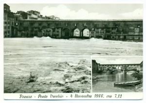 cartoline-epoca---Ponte-Vecchio,-ore-7.12