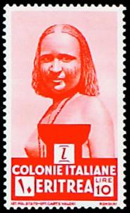 eritrea francobollo