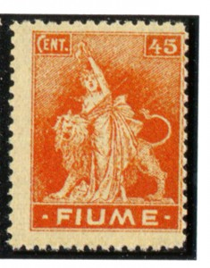 fiume 1919 francobollo