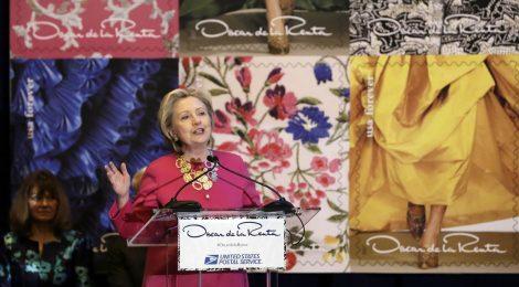 Hillary Clinton madrina per un giorno