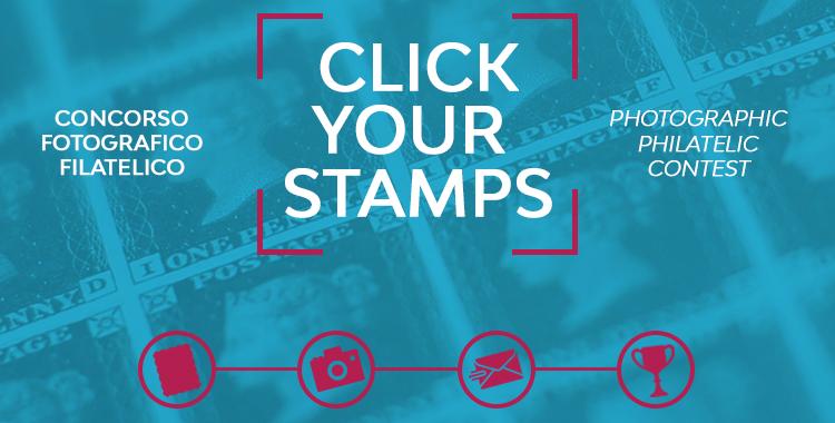 Click Your Stamps. Il primo contest fotografico sui francobolli