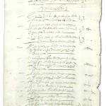 Il papel timbrado di Filippo IV di Spagna