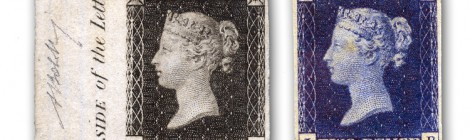 Penny Black Two Pence Blue