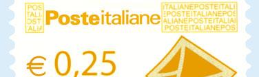 Posta italiana - 0,25€