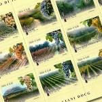 74 vini e 74 francobolli per 15 regioni