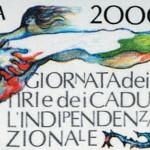 C'è il francobollo non l'indipendenza