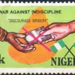 Francobolli contro la corruzione