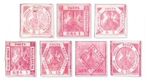 Francobolli Regno di Napoli