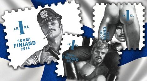 Tom of Finland francobolli gay omosessuali