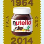 Il francobollo per i 50 anni della Nutella