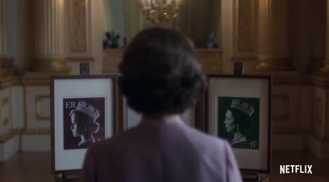 The Crown, la regina e i suoi francobolli