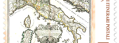 Europa: antichi itinerari postali italiani